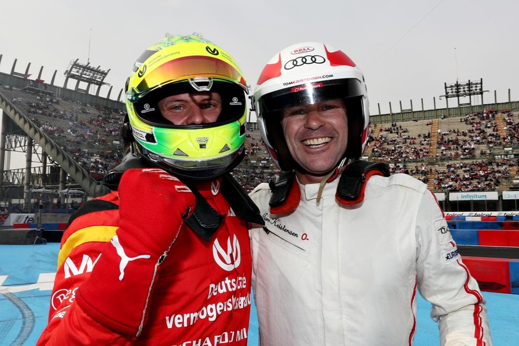 Mick Schumacher, Tom Kristensen