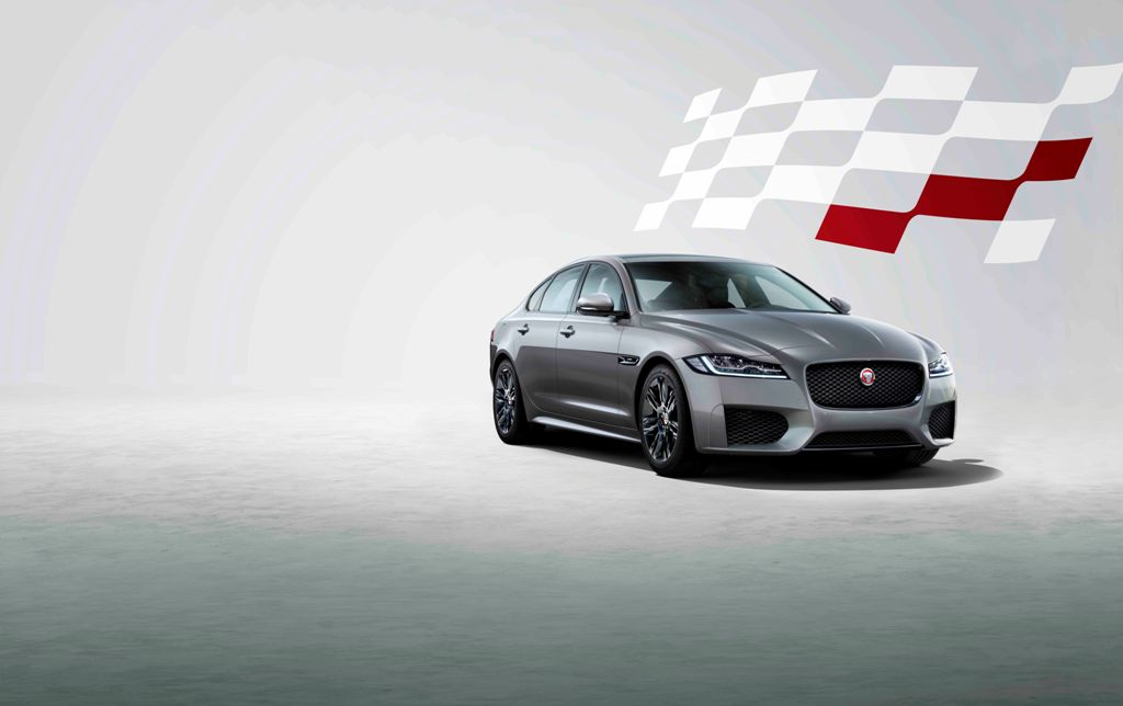 Jaguar XG Chequered Flag