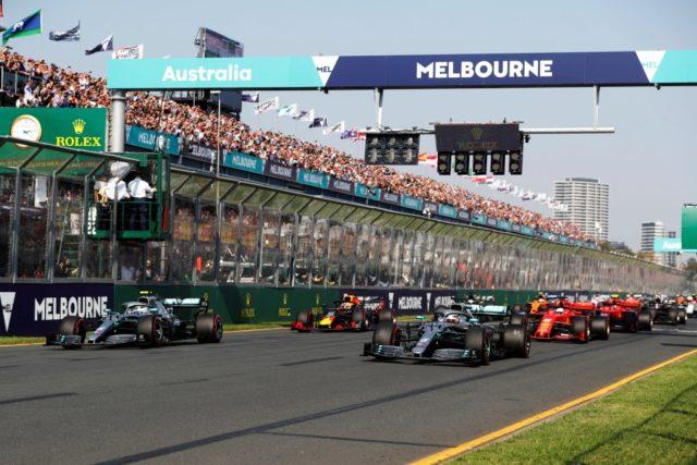 Valtteri Bottas, start, Australian Grand prix